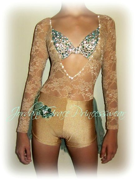 """Fields of Gold""-Jordan Grace Princesswear custom dance costumes"