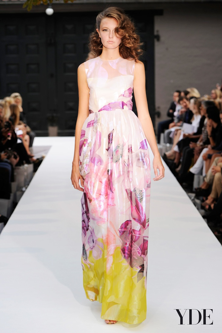 YDE SS13  #YDE #fashion #luxury #dress
