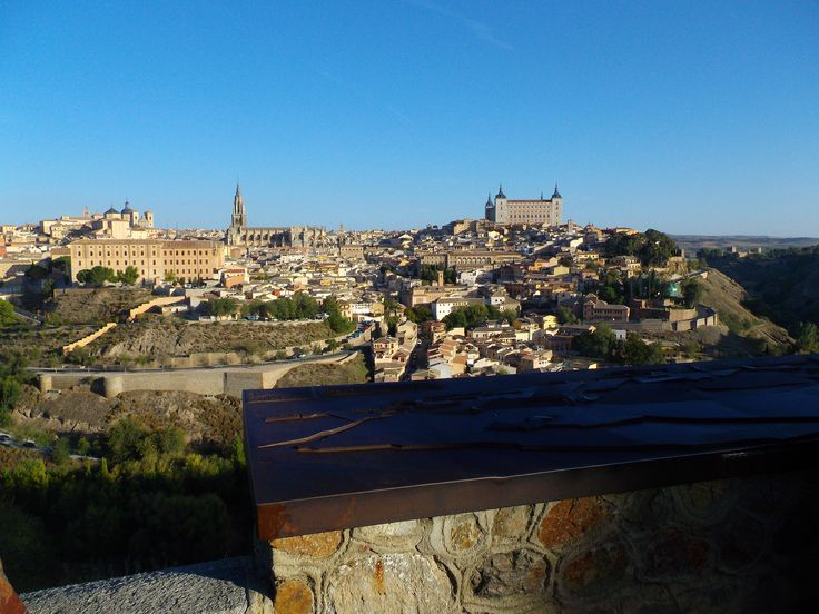 The walled city of Toledo, Spain
