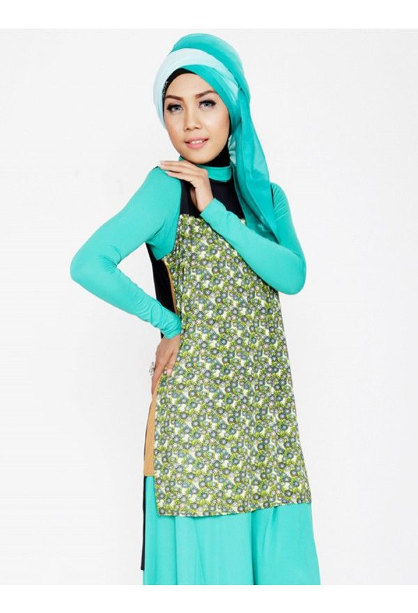 Roman Blouse Green