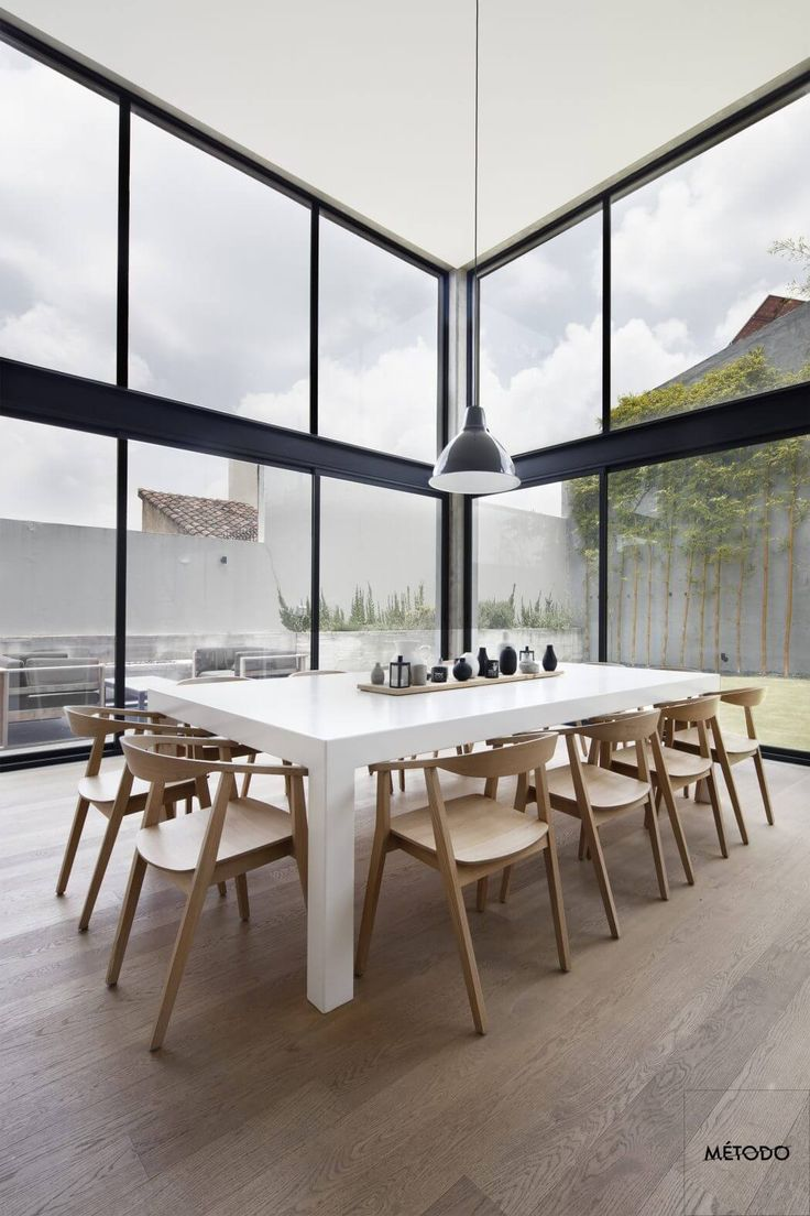 384 best des maisons de luxe images on pinterest for Salle a manger de luxe