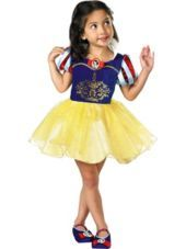 Girls Classic Snow White Ballerina Costume - Party City