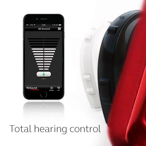 Have total control at your fingertips.  Visit resound.com/en-AU/hearing-aids/apps/control-app