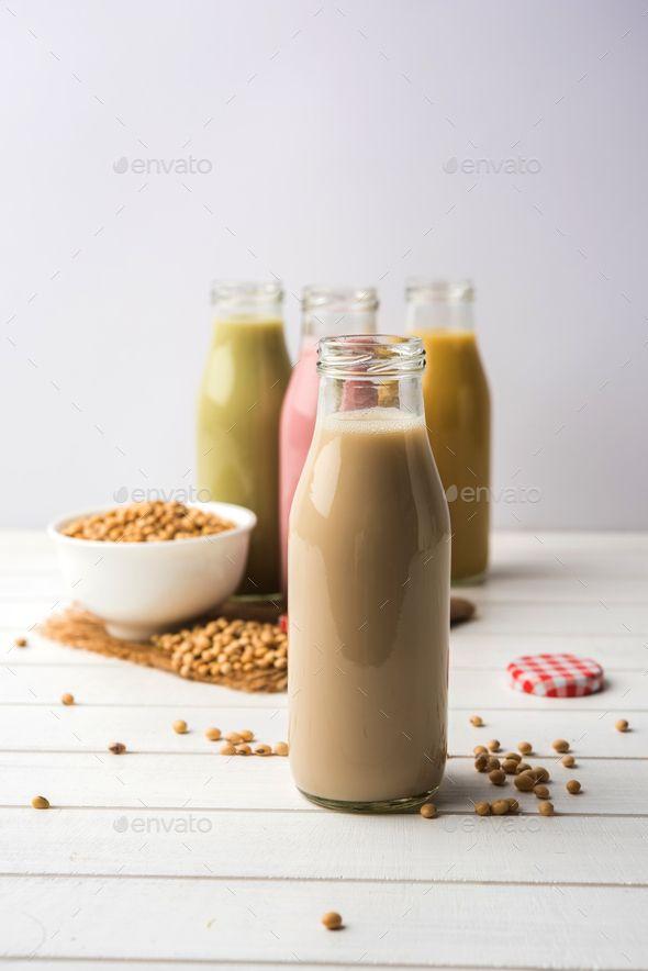 Soy Milk Soy Milk Healthy Drinks Milk