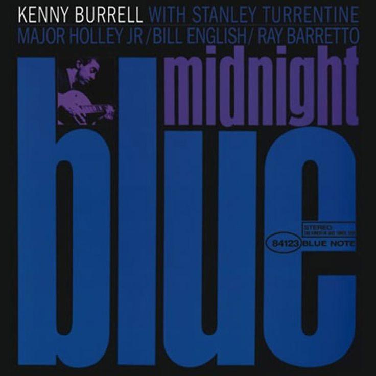 Kenny Burrell - Midnight Blue on LP