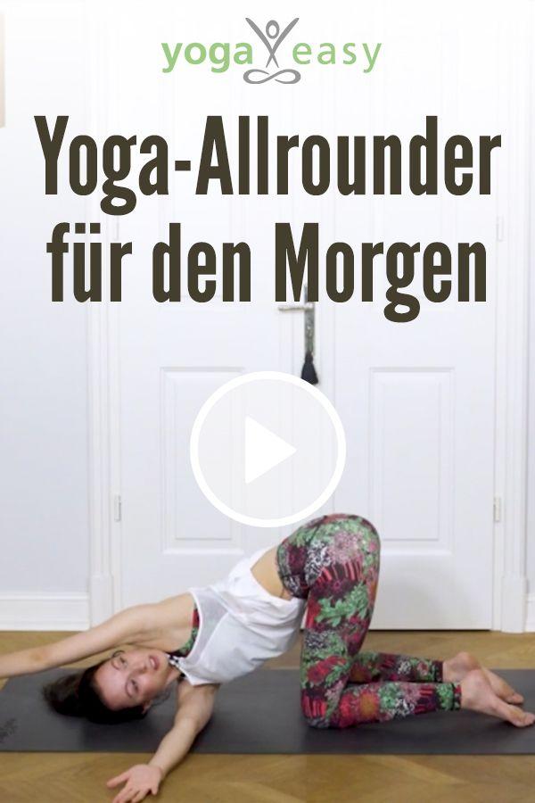 Yoga für den Morgen: Diese kurze Yoga-Sequenz macht dich wach und fit für den … – YogaEasy – dein Online-Yogastudio