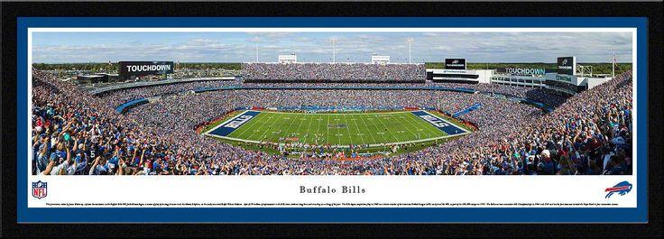 Buffalo Bills Ralph Wilson Stadium 50 Yard Line Panoramic Picture