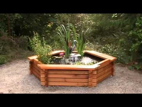 The 25 best ideas about above ground pond on pinterest for Above ground koi ponds for sale