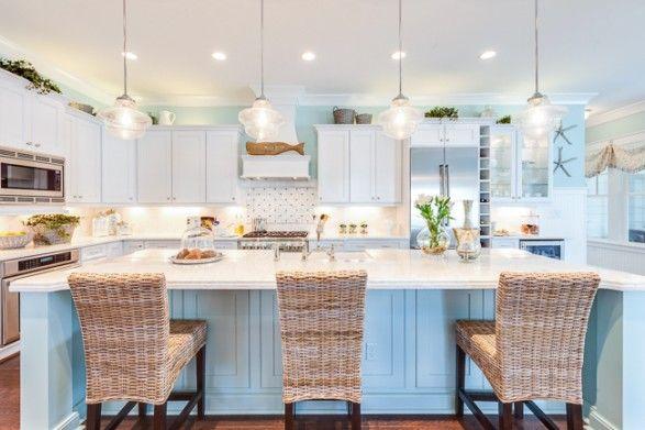 Best 25 coastal kitchens ideas on pinterest beach for Coastal cottage kitchen ideas
