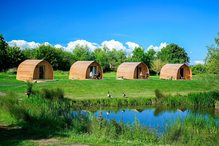 • Enjoy some camping with a touch of luxury on a charming family-owned farm • Rest well with a double bed, electric heating, kitchen and shower room all included in your pod • Fill your holiday with as much or as little as you like, including walks, activ
