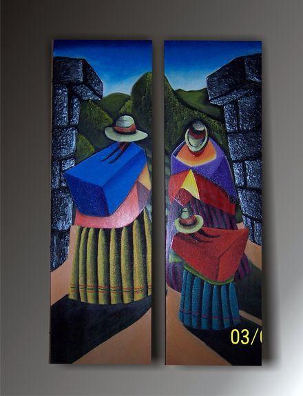 Les 291 meilleures images propos de altiplano sur - Cuadros con texturas abstractos ...