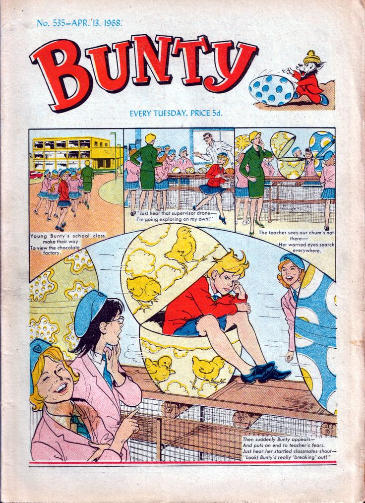The Bunty..remember the cut out dolls every week?