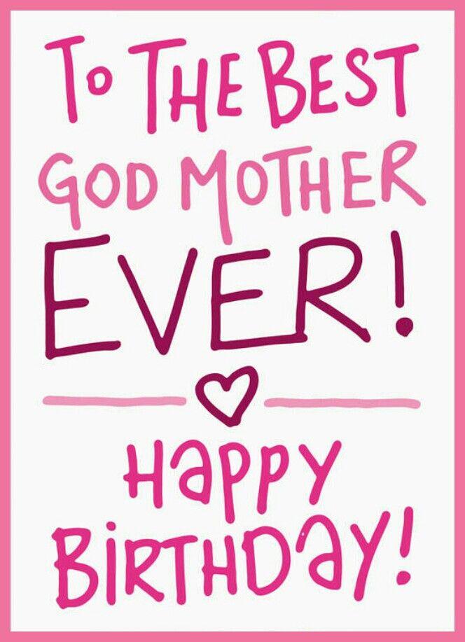 Happy birthday, Godmother!