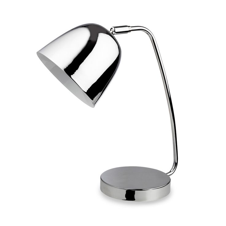 Firstlight 8627CH Meteor 1 Light Chrome Desk Lamp
