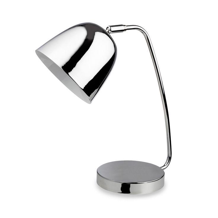 Firstlight 8627CH Meteor 1 Light Chrome Desk Lamp