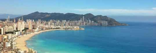 Benidorm Beaches enjoy around 300 days of sunshine per year and average summer temperatures in the mid 30s, Benidorm has become one of the most popular holiday destinations in Spain. With hundreds of bars, restaurants, nightclubs, party boat tours, water sports, and the fantastic Terra Mitica Theme Park closeby there are loads of exciting activities for all the family. http://costasonline.com/benidorm-beaches/