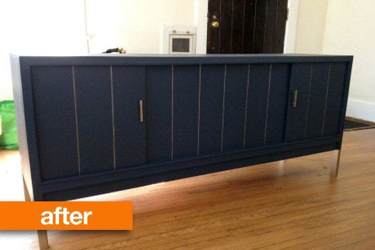 Lindsay fell in love with the shape of this vintage record player console from Craigslist, but when she picked it up, it was beyond dirty. A lot of elbow grease and a little paint later, check out the results!  Another great example of #upcycling and #repurposing !