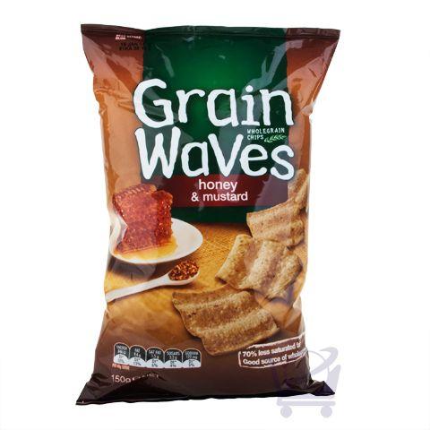 Multigrain Chips – Honey & Mustard Grain Waves – 140g | Shop New Zealand NZ$5.9