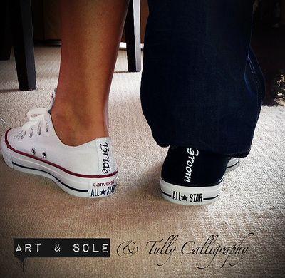Bride and Groom converse!