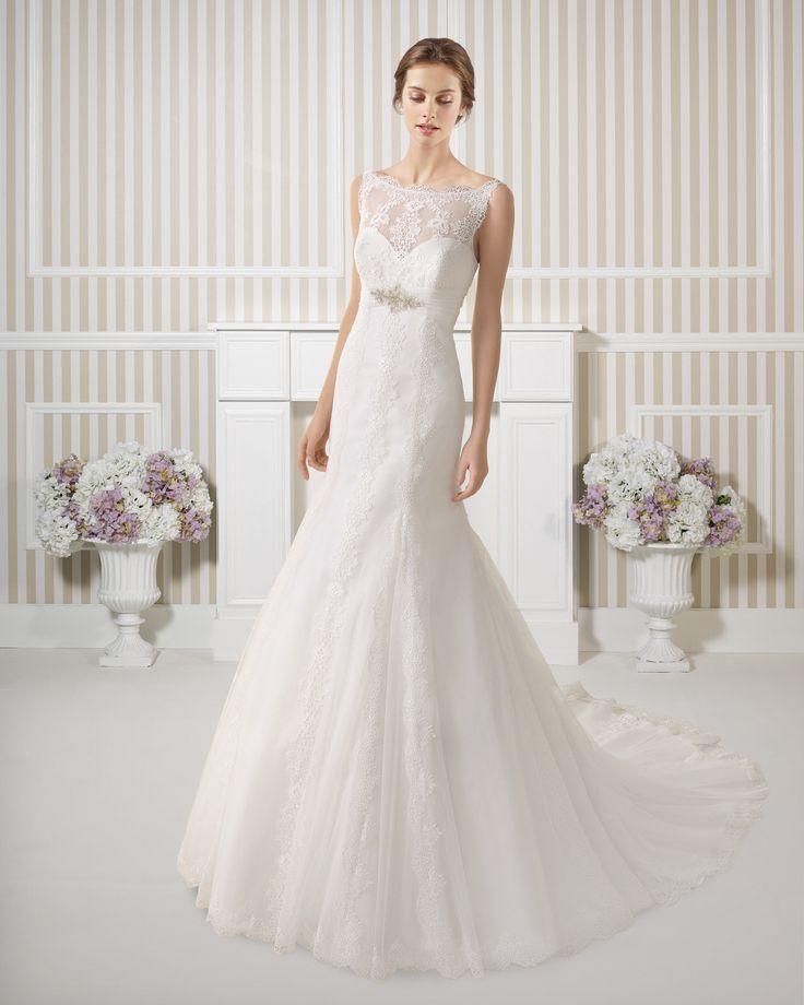 7S176 EXITO | Wedding Dresses | 2015 Collection | Luna Novias