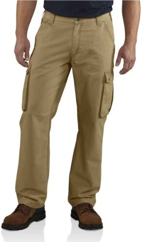 Carhartt Men's Rugged Cargo Pant, Dark Khaki