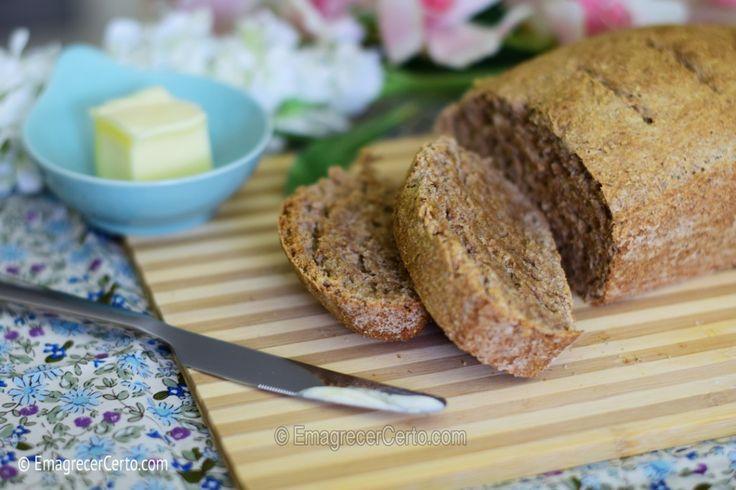 pão caseiro integral