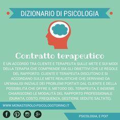 Dizionario di #Psicologia: Contratto terapeutico.