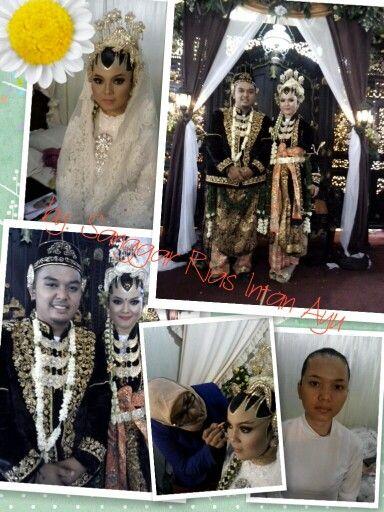 The wedding jogja paes ageng kanigaran muslim by intan ayu