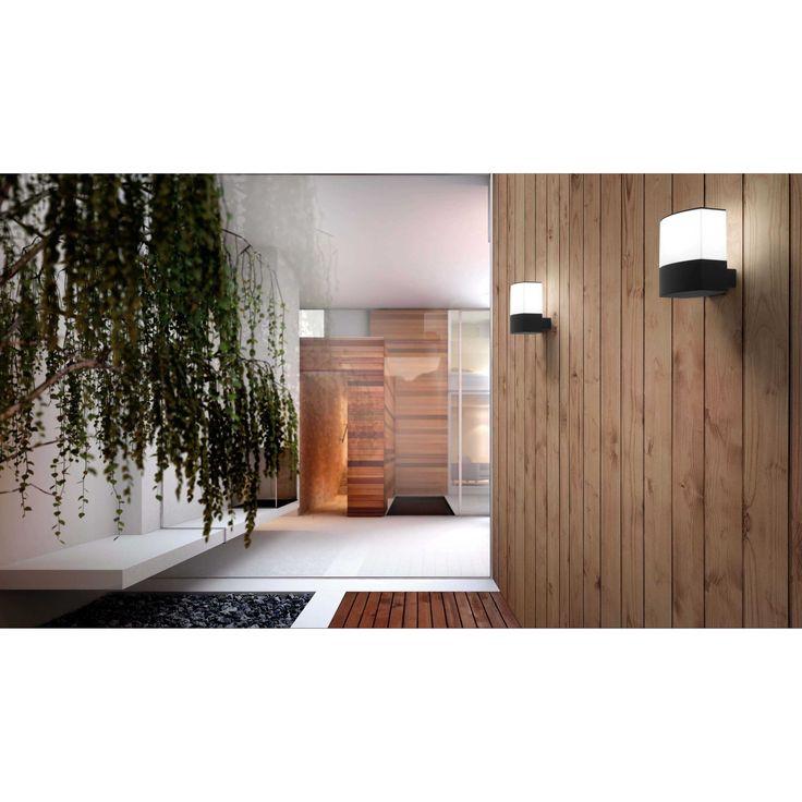 Apliques de pared de diseño. #decoración #exterior #iluminación DATNA