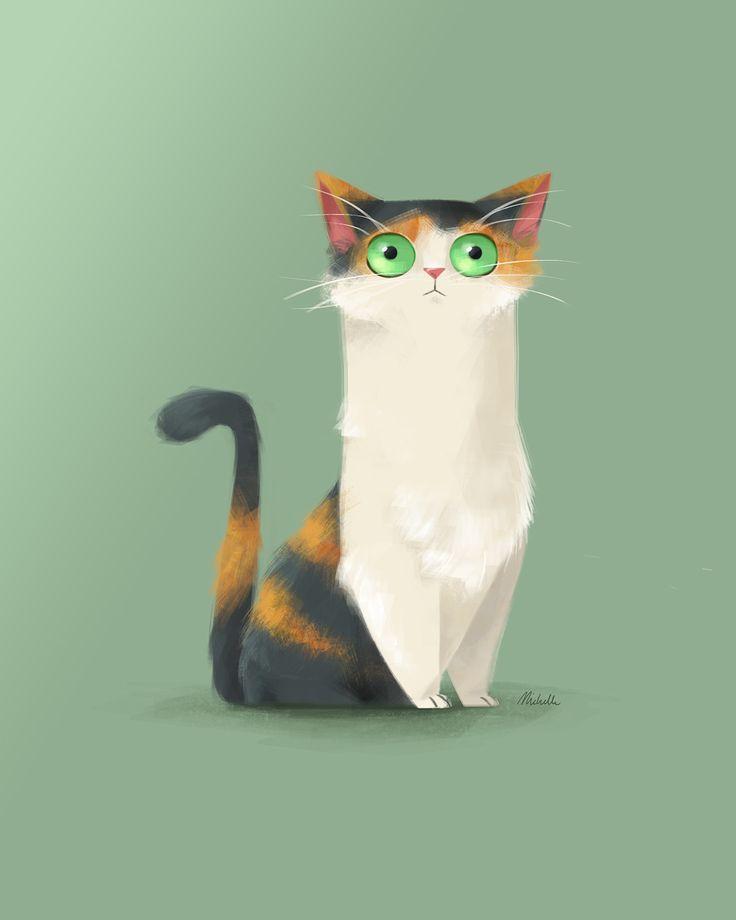 Cuki the Kitten on Behance