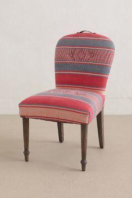 Kit Kemp Folkthread Dining Chair #anthrofave