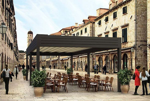 Pergola with Retractable Awning - Google Search