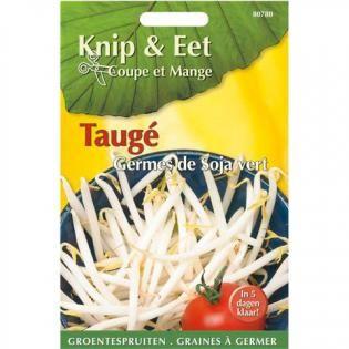 Knip en eet- groentenspruiten Taugé, in 5 dagen klaar...gezond,  lekker en calorie arm.
