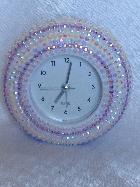 beautiful bling clock battery operated clock on show me beautiful wall color id=80653