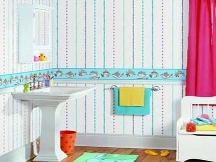 Best 25+ Small bathroom wallpaper ideas on Pinterest ...