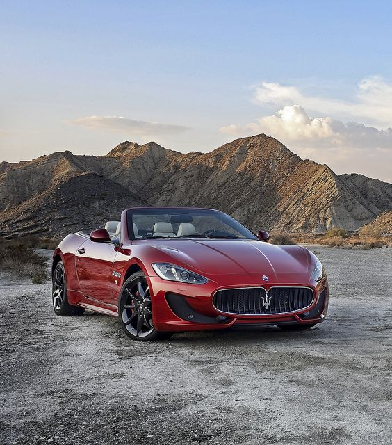 Gorgeous 2012 Maserati GranCabrio Sport