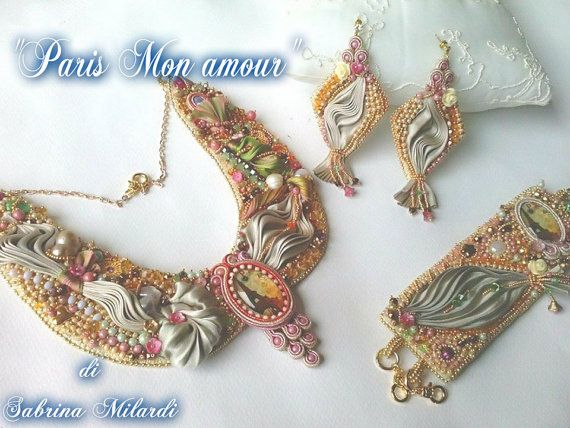 Parure Paris mon amour composta da collana di SabrinaMilardiJewels
