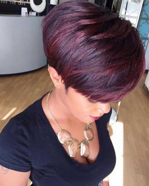 Charmante kurze Haarfarbe Ideen