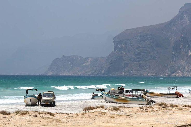 Na estrada para o Iémen (de Salalah) | Omã
