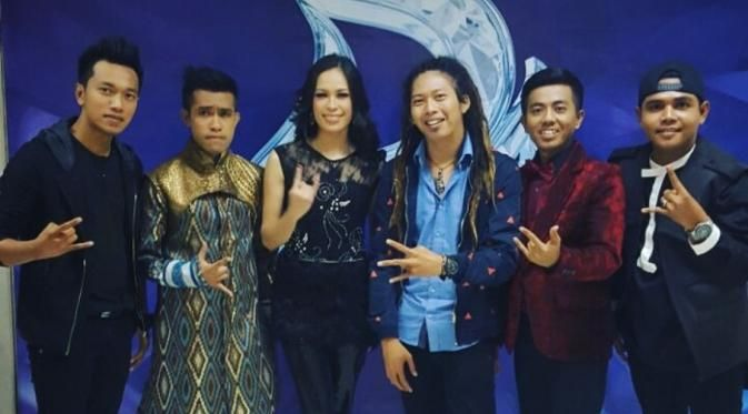 Peserta D'Academy 4 Bentuk Band Poppy and The Brothers