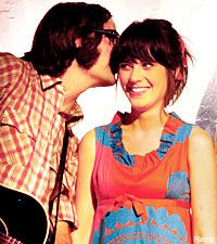 Ben Gibbard and Zooey Deschanel: two of the most beautiful, talented people on earth. No wonder they're in love!