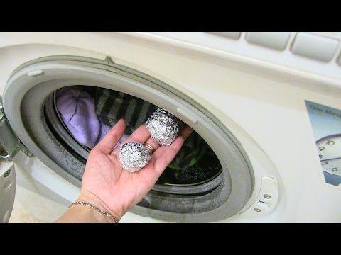 КАК и ЗАЧЕМ стирать при помощи фольги? КЛАССНЫЙ и ПОЛЕЗНЫЙ СПОСОБ. — Полезные советы