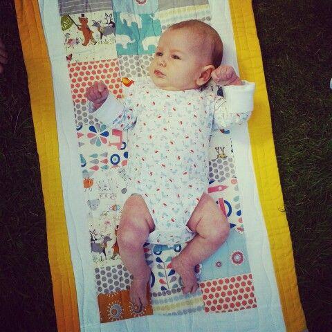 A babys quilt