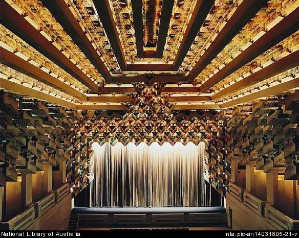 The Capitol Theatre is one of Melbourne's most important historic buildings. Designed by Walter Burley Grifin and his wife Marion Mahony Griffin, it was completed in 1924. It is best known for its extraordinary crystal inspired ceiling.