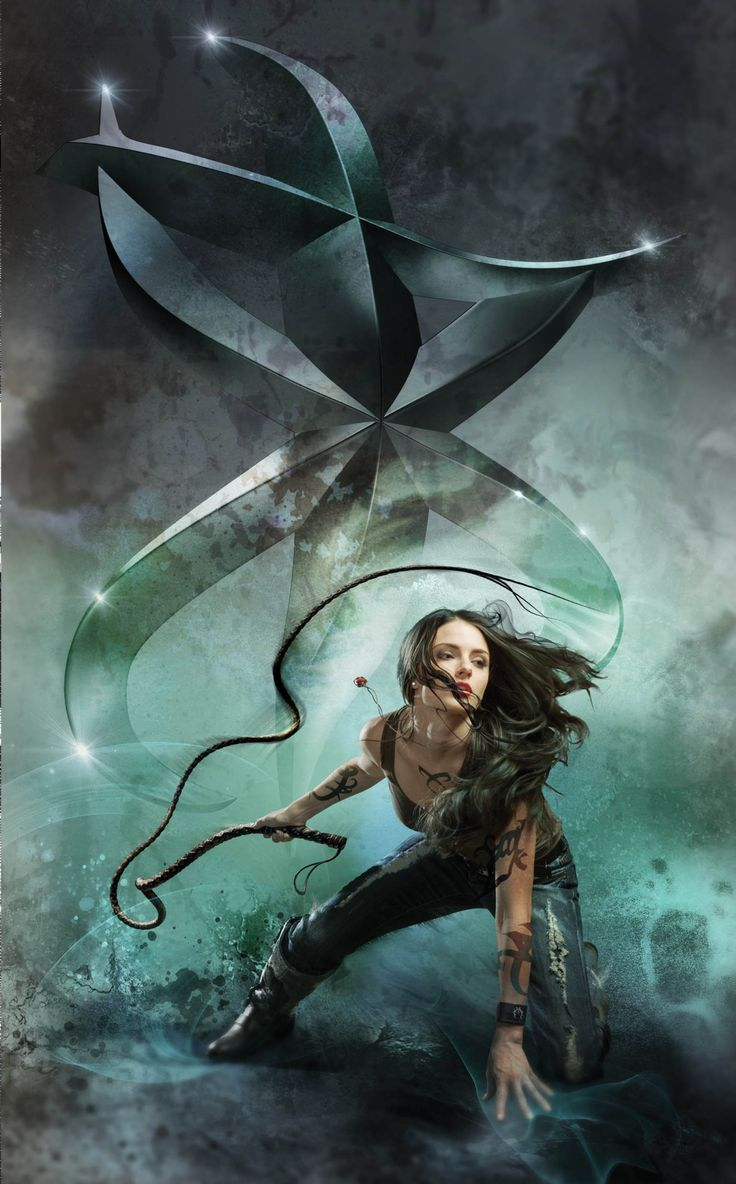 New City of Fallen Angels cover art: Isabelle with Vision rune