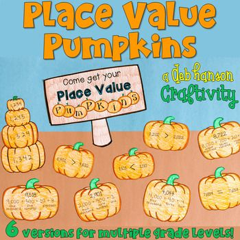 This engaging activity puts a fun spin on reviewing place value! It also makes a creative bulletin board or school hallway display! Students begin by completing three worksheets:1. Expanded, Standard, & Word Form2. Standard & Word Form and Ordering Numbers 3.