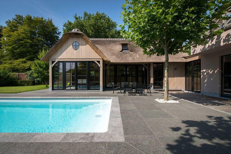 Cottage poolhouse aanbouw   Bogarden