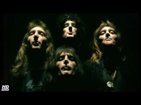 [HD] Queen - Bohemian Rhapsody (official music video) + LYRICS (BEST QUALITY) - my 500th pin on this board had to be this...best song written and performed in my lifetime by the best rock songer EVER...RIP Mr. Mercury