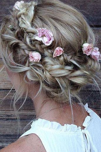Gorgeous plait and braid hair ideas for your wedding hair
