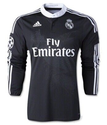 Real Madrid 3rd shirt 2013/2014 [Long Sleeved] [cfb3-232] - €17.50 : Zen Cart!, The Art of E-commerce